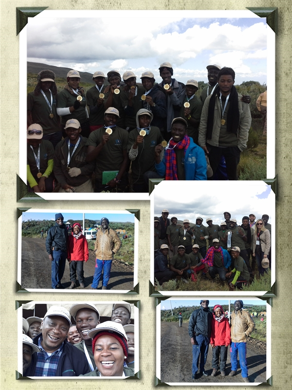 2016 Presidents Award Kenya at Old Moses Mt Kenya